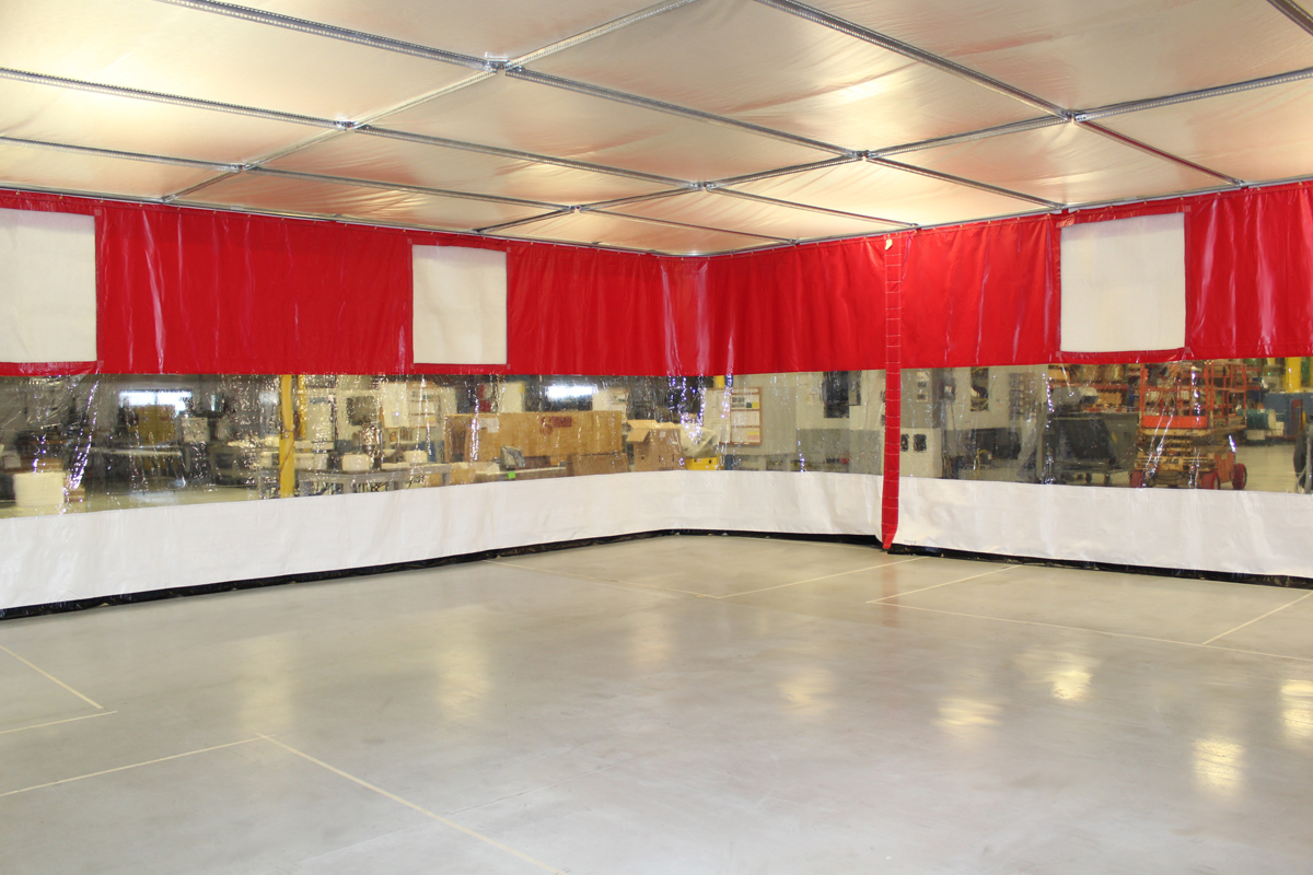 Custom Industrial Curtain Enclosures