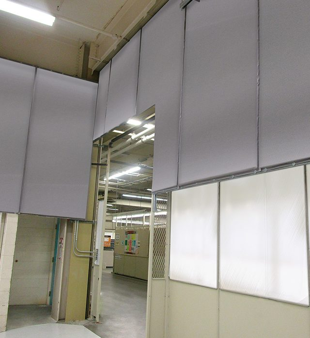 Stationary Acoustic Panels with Single Barrier Technology