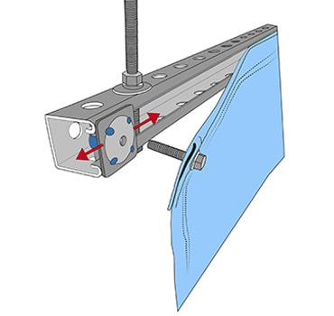 Adjustable-mounted-to-Unistrut