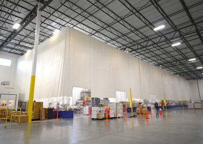 Warehouse Single Layer Curtain